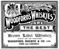 Woodford's Whisky Advertisement